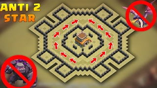 Download Town Hall 8 Anti 2 stars War Base 2017 With Proof | CoC Best TH8 War Base ″Anti-Drags, Anti-Gowipi″ Video