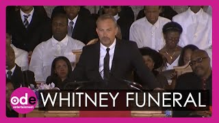 Download Kevin Costner's emotional speech in full at Whitney Houston's funeral Video