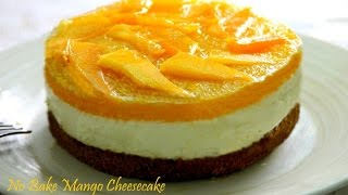 Download No Bake Mango Cheesecake Video