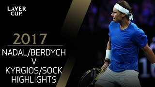 Download Nadal/Berdych v Kyrgios/Sock (Match 4) | Laver Cup 2017 Video