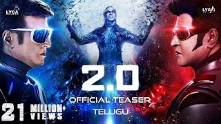 Download 2.0 - Official Teaser [Telugu] | Rajinikanth | Akshay Kumar | A R Rahman | Shankar | Subaskaran Video