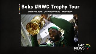 Download [LIVE] Springboks Rugby World Cup trophy tour in East London Video