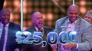 Download Shaq and Charles Barkley Take on Fast Money – Celebrity Family Feud Video