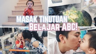Download Vlog #202 | MASAK BUBUR MANADO, BALITA BELAJAR 'ABCD'!😍 Video