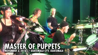 Download Metallica: Master of Puppets (MetOnTour - Guatemala City, Guatemala - 2016) Video
