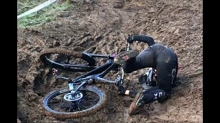 Download BRINGEWOOD NATIONAL DOWNHILL MTB CARNAGE SLOPFEST.... WAS IT A JOKE/ MESSIEST RACE EVER??? Video