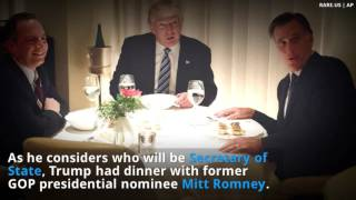 Download Reporter Caught Live Tweeting Private Romney , Trump dinner. Video