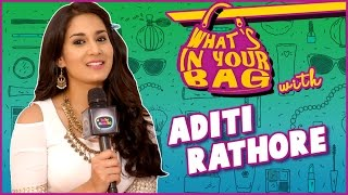 Download ADITI RATHORE aka AVNI's Handbag SECRET REVEALED | What's In Your Bag | TellyMasala Video