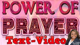 Download TextVideo: Atomic Power of Prayer by Dr. Cindy Trimm! Video