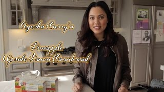 Download Ayesha Curry's Fleischmann's Simply Homemade Pineapple Upside Down Cornbread Recipe! Video