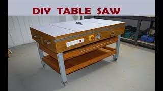 Download DIY Table Saw - How to Make A Homemade Table Saw Video