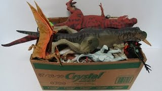 Download What's in the box: Jurassic Park toys! Dinosaurs, Action Figures, Vehicles! Video