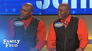 Download Steve meets Victor and Vincent... we THINK!!! | Family Feud Video