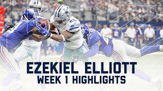Download Ezekiel Elliott Highlights | Giants vs. Cowboys | NFL Week 1 Player Highlights Video