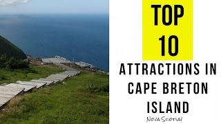 Download Top 12. Best Tourist Attractions in Cape Breton Island, Canada Video