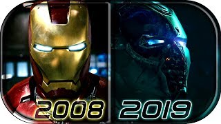 Download EVOLUTION of IRON MAN in MCU Movies (2008-2019) Avengers Endgame Iron Man death scene 2019 full clip Video