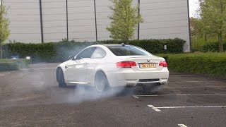 Download BMW M3 E92 w/ M-Performance Exhaust Making Donuts! Video