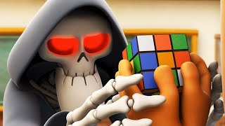 Download Spookiz | Solve the Puzzle - Rubik's Cube | 스푸키즈 | Funny Cartoon | Kids Cartoons | Videos for Kids Video