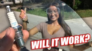 Download Spark Plug vs. Window (that was EASY) Video