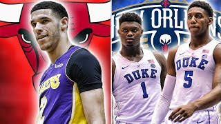 Download 10 Draft Night Trades That Would Change The NBA | Zion And RJ On The Pelicans? Video