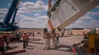 Download Liebherr - R 9800 Mining Excavator Ship to Site (Timelapse) Video