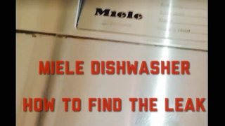 Download Miele Dishwasher - Leaking - How To Find The Leak Video