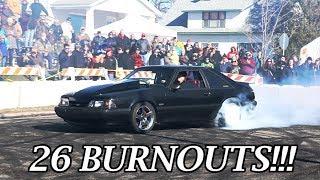 Download CRAZY Burnout Contest - Jake Forsman Memorial Car Show & Burnout Contest - Part 2 Video