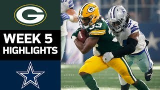 Download Packers vs. Cowboys | NFL Week 5 Game Highlights Video