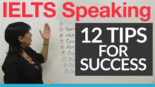 Download 12 IELTS Speaking Tips Video