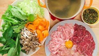 Download Thai Hot Pot ″Jim Jum″ จิ้มจุ่ม แจ่วฮ้อน - Hot Thai Kitchen! Video