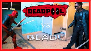 Download DEADPOOL vs BLADE | Real Life Fight Video