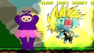 Download TINKY WINKY WITH DIPSY LAA LAA & PO TEAM UP WITH GUMBALL IN SURVIVAL MODE Video