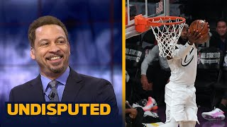 Download Chris Broussard reacts to LeBron James winning his 3rd NBA All-Star MVP | UNDISPUTED Video