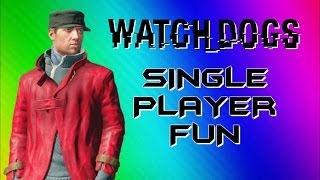 Download Watch Dogs Funny Moments - Photobomb, Big Car Explosion, Glitchy Body (Single Player Gameplay) Video