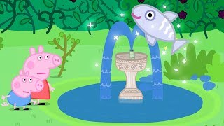 Download Peppa Pig English Episodes | Mystery Fountain! #PeppaPig Video