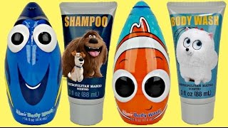 Download Finding Dory & Secret Life of Pets Soap Scrub & Bath Tub Sets Video