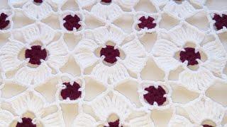 Download THALPOSH ke design, crochet table cover,#90,by ||Santosh All Art || Video