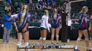 Download #AAUVBNatls: OVA/TBVA vs. Elite (14 Open) Video