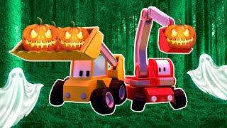 Download Halloween - Tiny Town: Street Vehicles Ambulance Police Car Fire Truck Video