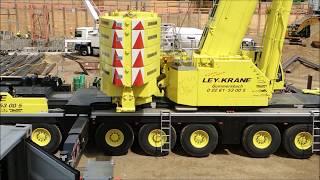 Download Mobilkran Liebherr LTM 1450 8.1 Kranmontage Wilbert WT 420 e.tronic Video