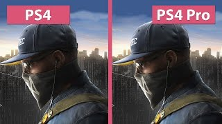 Download Watch Dogs 2 – PS4 vs. PS4 Pro 1080p Mode Graphics Comparison Video