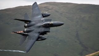 Download 🇺🇸 🇬🇧 The Awesome ″CAD WEST″ Low Flying Jet Site In Wales ″Mach Loop″. Video