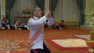 Download Thai Crown Prince Formally Proclaimed King Video