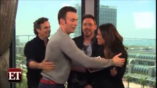 Download The Avengers Hilarious Cast Moments Compilation 2 Video