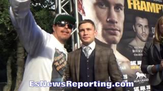 Download CARL FRAMPTON ADMITS WIN OVER LEO SANTA CRUZ HAS MADE HIM MORE RECOGNIZABLE - EsNews Boxing Video
