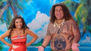 Download DISNEY'S MOANA 'Behind the Scenes' !!! Video
