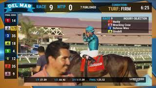 Download Nucky wins the Runhappy Del Mar Futurity (Grade I) Race 9 at Del Mar 09/02/19 Video