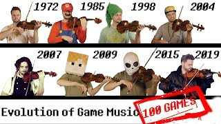 Download 100 GAMES - The Evolution of Game Music | 1972-2019 Video