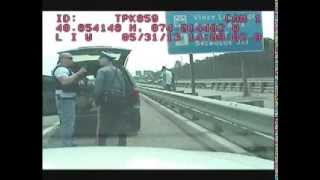 Download Dashcam shows cops fighting - Bergen County Police vs NJ State Police on Turnpike, 2013 Video