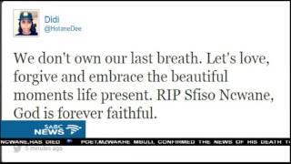 Download Condolences pour in for Sfiso Ncwane Video